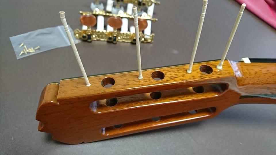 クラシック ギター 弦 交換